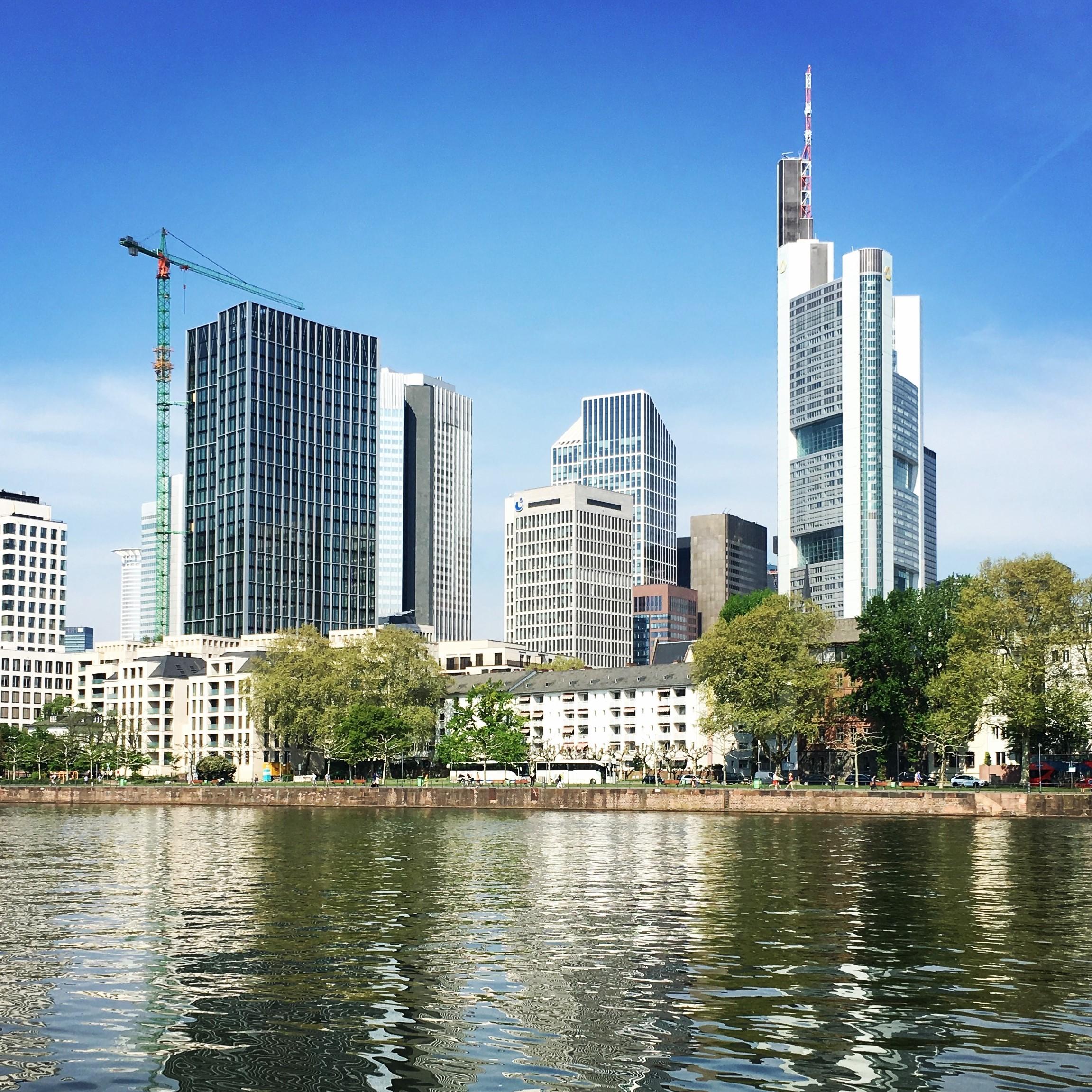 Intuition im Business - Skyline von Frankfurt