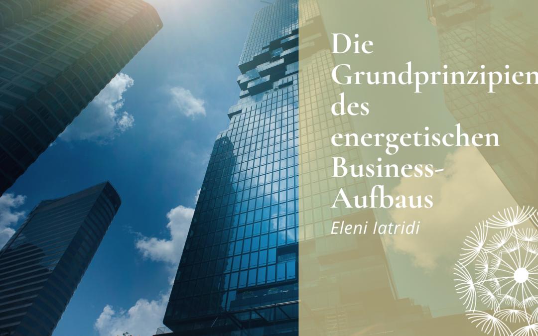 energetischer Business-Aufbau